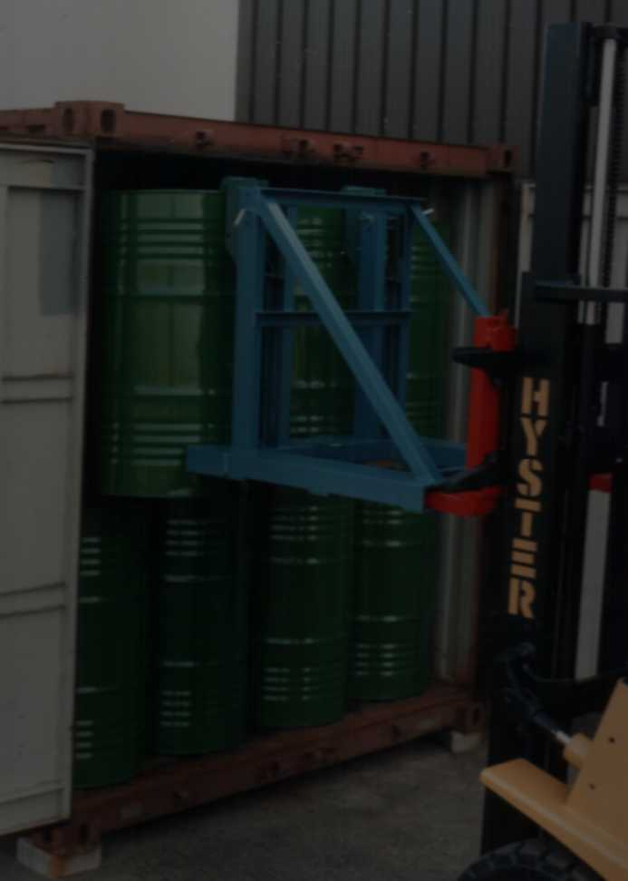Container geladen met Zwebo Container Systeem